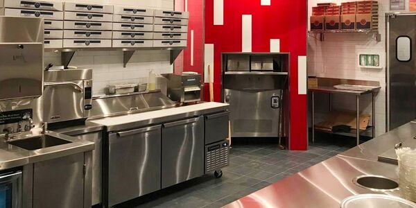 Fast casual restaurant design