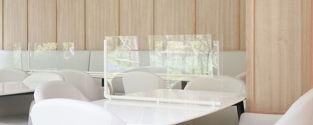 Covid 19 restaurant table dividers